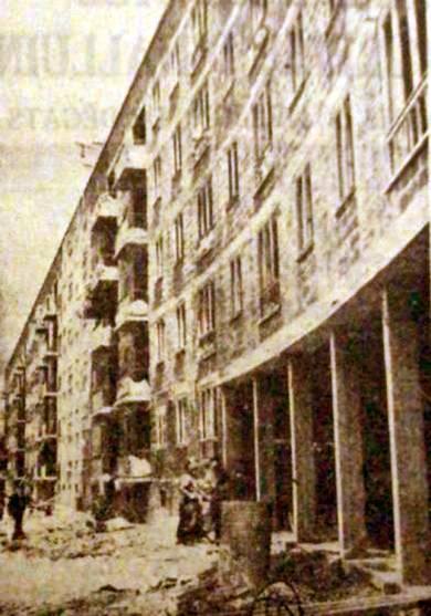 Le chantier en 1957 Photo NM