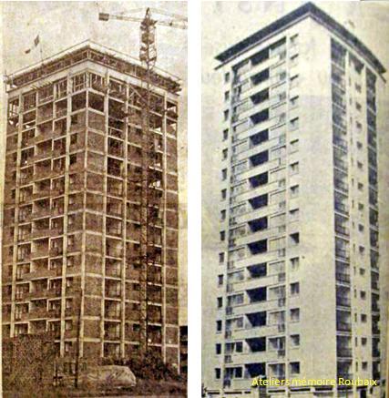 La tour en 1958 et 1959 Photos NE