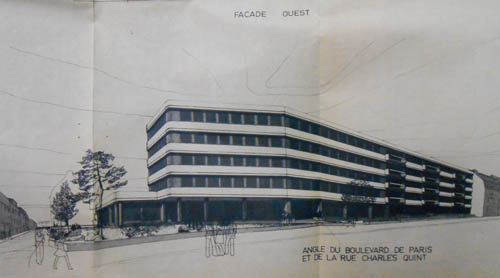 Le projet de 1979 – document archives municipales