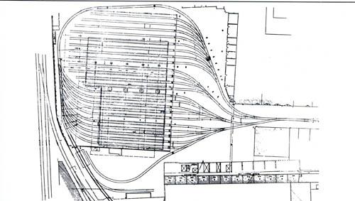 Plan du dépôt – document Au fil des trams