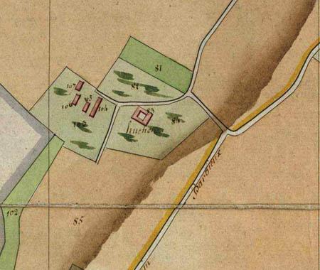 Plan cadastral 1805