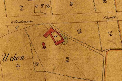 Plan cadastral 1845