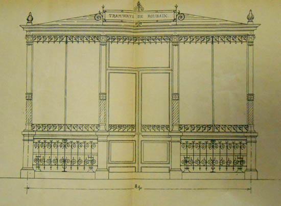 L'aubette de Barbieux – document archives municipales