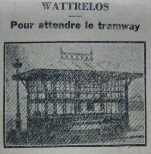Le kiosque de Wattrelos – document Journal de Roubaix - 1930