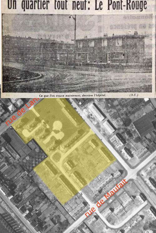 Document archives municipales 1953 et Nord Eclair 1956