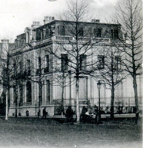 La demeure Roussel-Masurel au 139 - Document P.Vanhove