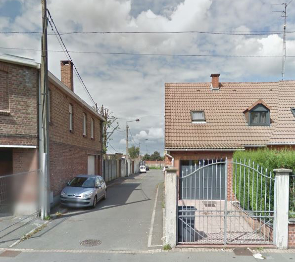 Impasse Oste de Roubaix Google Maps