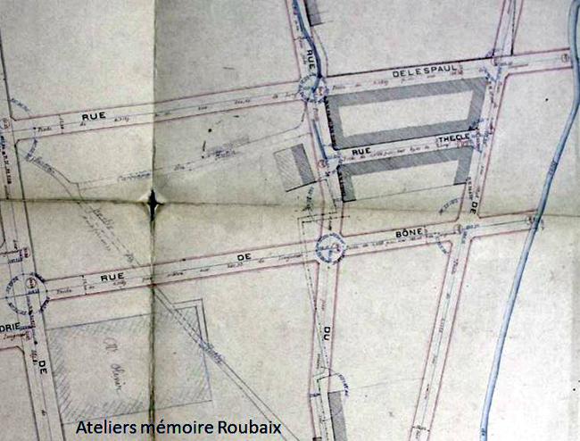 Le projet de quartier 1889 (extrait) AmRx