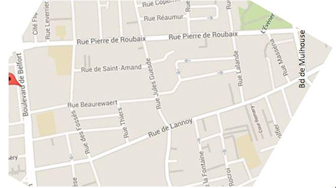 Territoire Comité de Quartier Extrait Plan Méd Rx