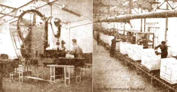 Vues de l'usine rue du Vivier Photos NE
