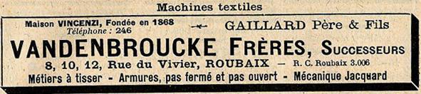 Rue du Vivier n°8-12 Extrait Ravet Anceau