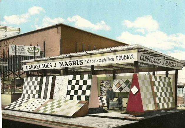 Le stand Magris à la foire de Lille Coll Particulière