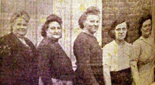 Les cinq sœurs Leclercq Photo NE