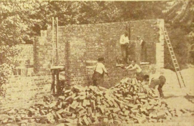 Les castors de l'entrepont sur le chantier Photo NE