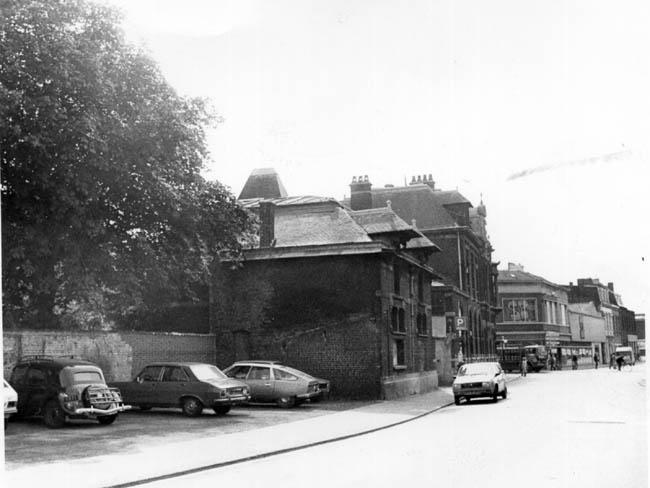 Le même immeuble vers 1980 – photo Nord Eclair