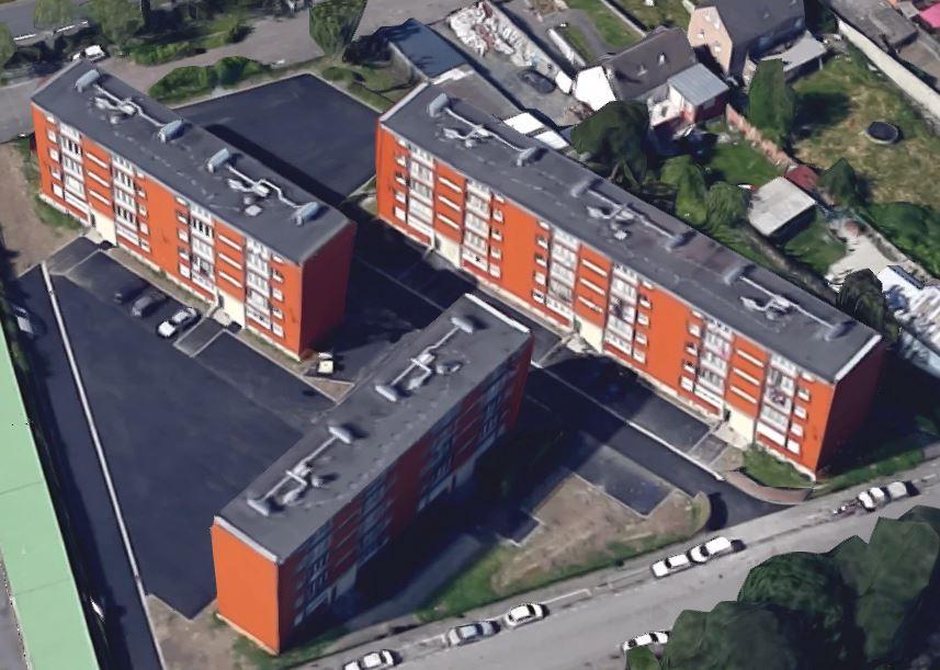 Les appartements aujourd'hui vue Google Maps