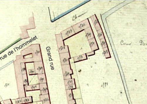 Plan cadastral 1826