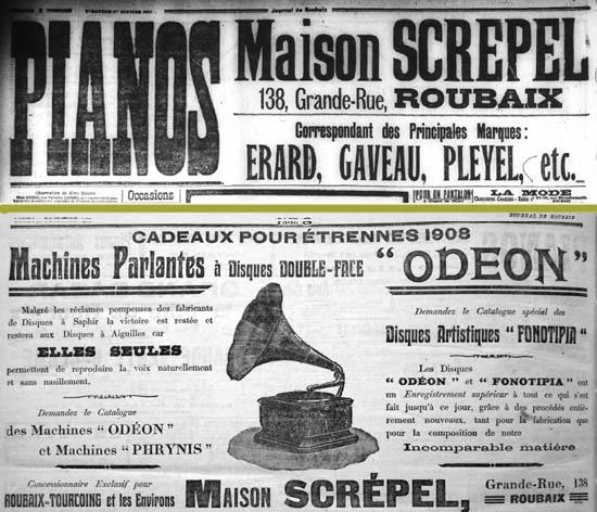 Documents journal de Roubaix