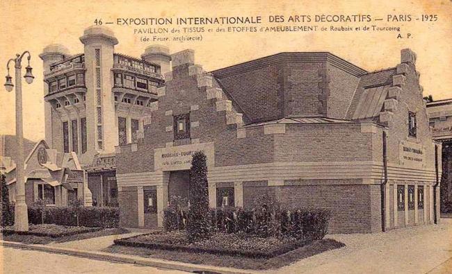 Le pavillon des deux villes à l'exposition des arts décoratifs de 1925 Coll. Particulière