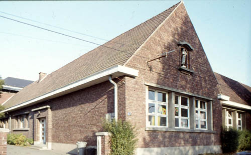L'école en 1983 - Photo Lucien Delvarre