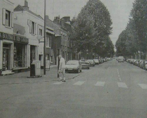 Le coin du boulevard de Reims et de la rue de Lannoy – Photo Nord Eclair