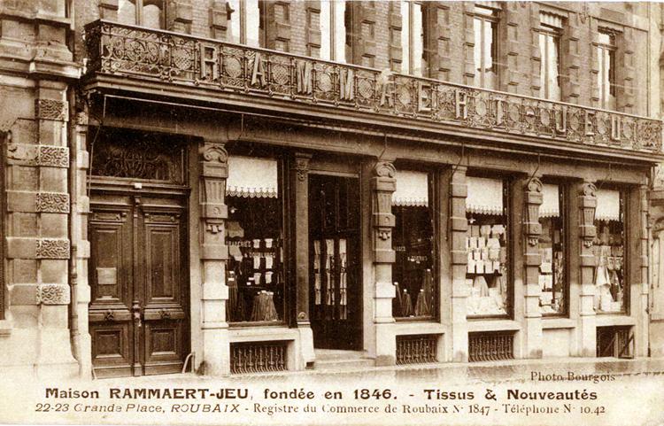 Les magasins Rammaert-Jeu CP Méd Rx