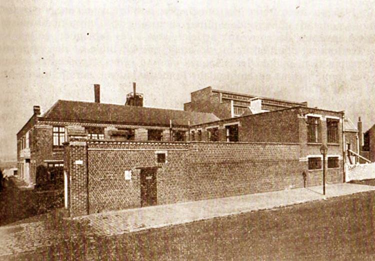 L'usine en 1936 Coll Particulière