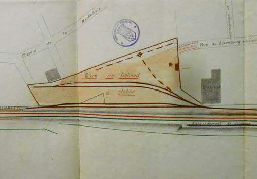 Le projet – document archives municipales
