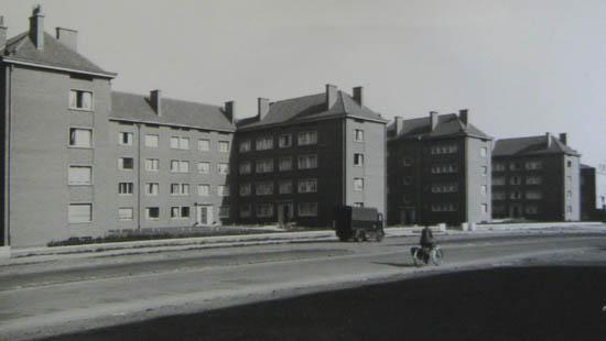 La cité juste après la construction – document archives municipales