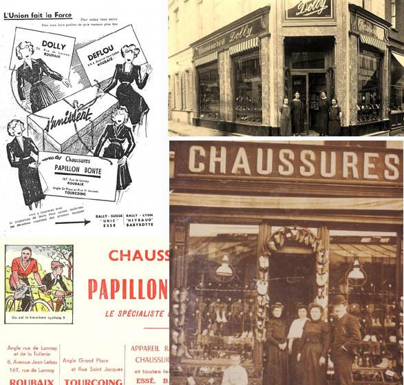 Photos La Voix du Nord et médiathèque de Roubaix – documents coll. particulière