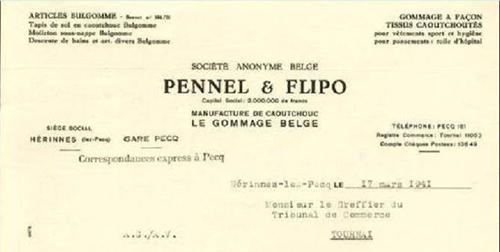 En tête Pennel belge Coll Particulière