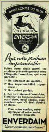 Publicité Enverdaim Coll Particulière