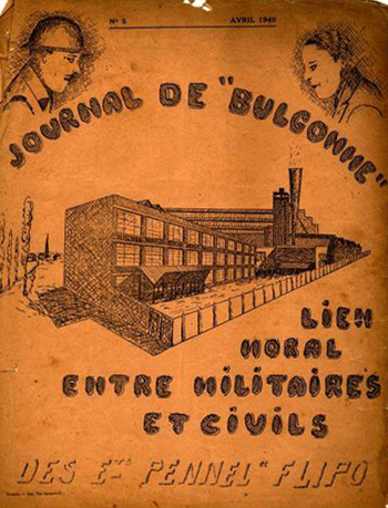 Le journal du Bulgomme Col PhW