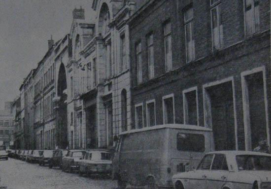 Les bâtiments à démolir rue du Pays - Photo Nord Matin