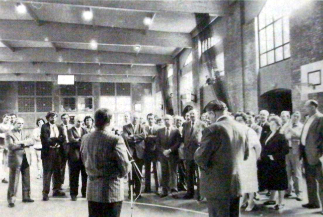 Inauguration en juin 1986 Photo NE
