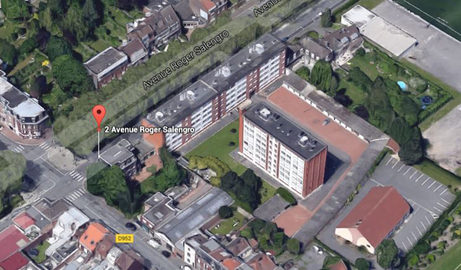 Vue aérienne Google Maps