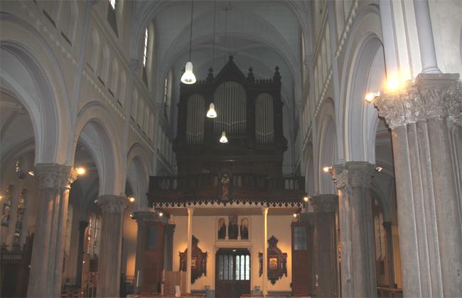 Les orgues de Ste Elisabeth