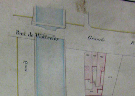 Plan cadastral 1884 – archives municipales