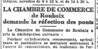 Le Journal de Roubaix - 1920