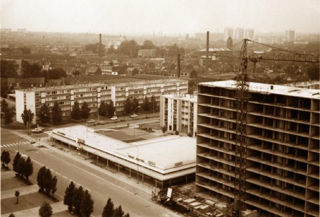 Vue du quartier en 1972 Photo NE