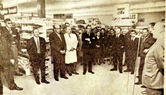 L'inauguration en août 1972 Photo NE