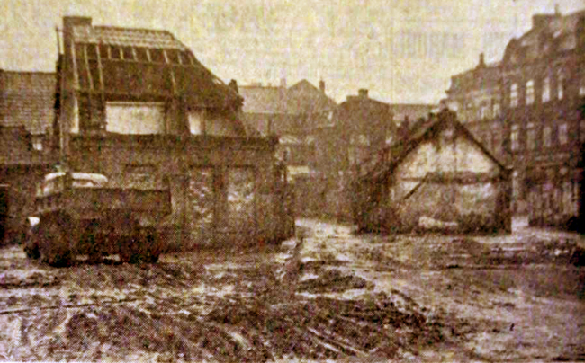 Fort Mulliez en démolition Photo NE