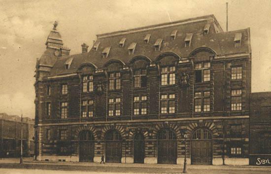 L'ancienne caserne - Document médiathèque de Roubaix