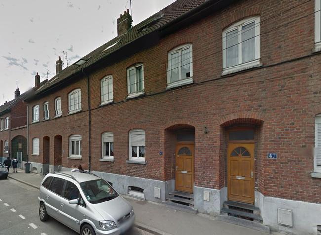 Vue actuelle des maisons doc Google Maps