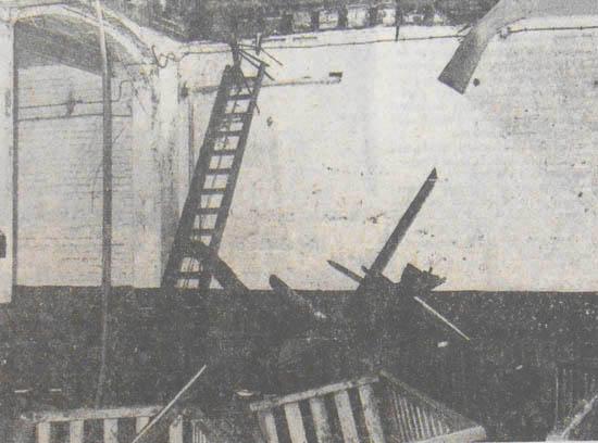 L'usine après le premier incendie - Photo La Voix du Nord