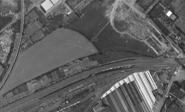 La zone en 1971 – photo IGN