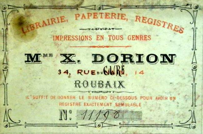 Étiquette imprimerie Dorion AmRx