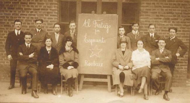 Le groupe espérantiste roubaisien pendant les années vingt Coll Particulière