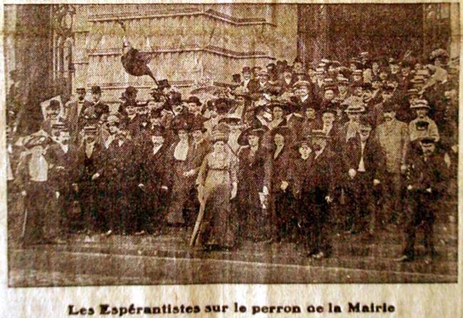 Congrès espérantiste Roubaix 1911 Photo le Journal de Roubaix