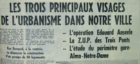 Document la Voix du Nord 1962